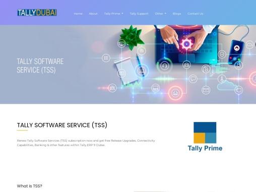 Tally Software Services Dubai, UAE