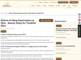 How Lack of Sleep Affects your Skin – Tamira Aesthetics