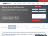 Medical Device Manufacturers List