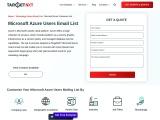 Microsoft Azure Customers List