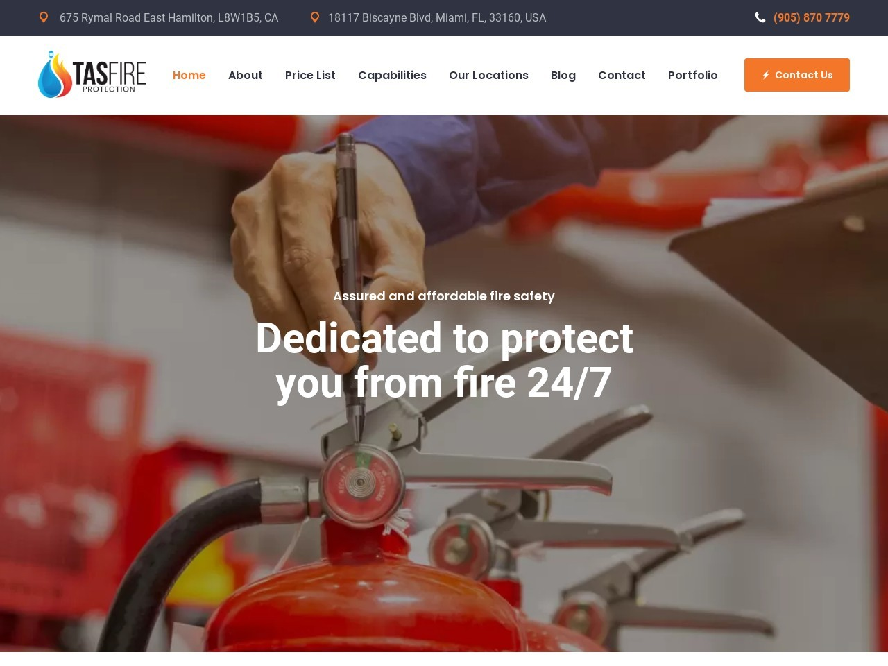 Fire Inspection Services | Fire Extinguisher Inspection | Fire Alarm Inspection