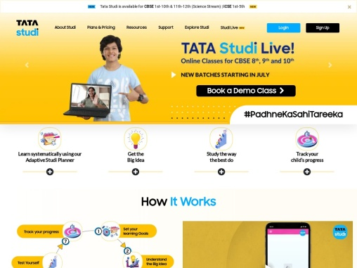 A Learning App for Kids with Study Planner