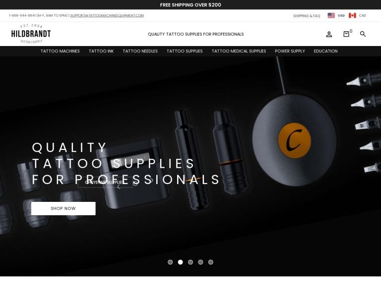 Tattoo Machine Equipment screenshot