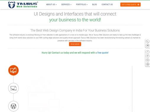 Top web development companies | Tauruswebsolutions