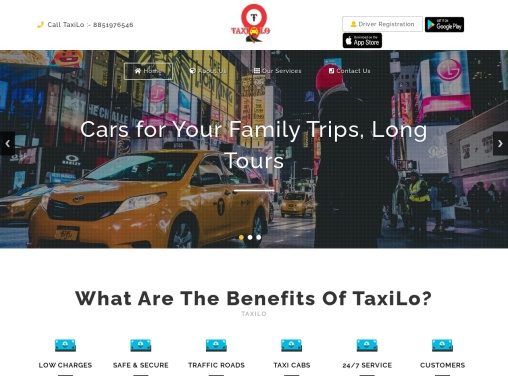 TaxiLo | Online Car Cabs, Bike, Taxi Booking App | Deoghar