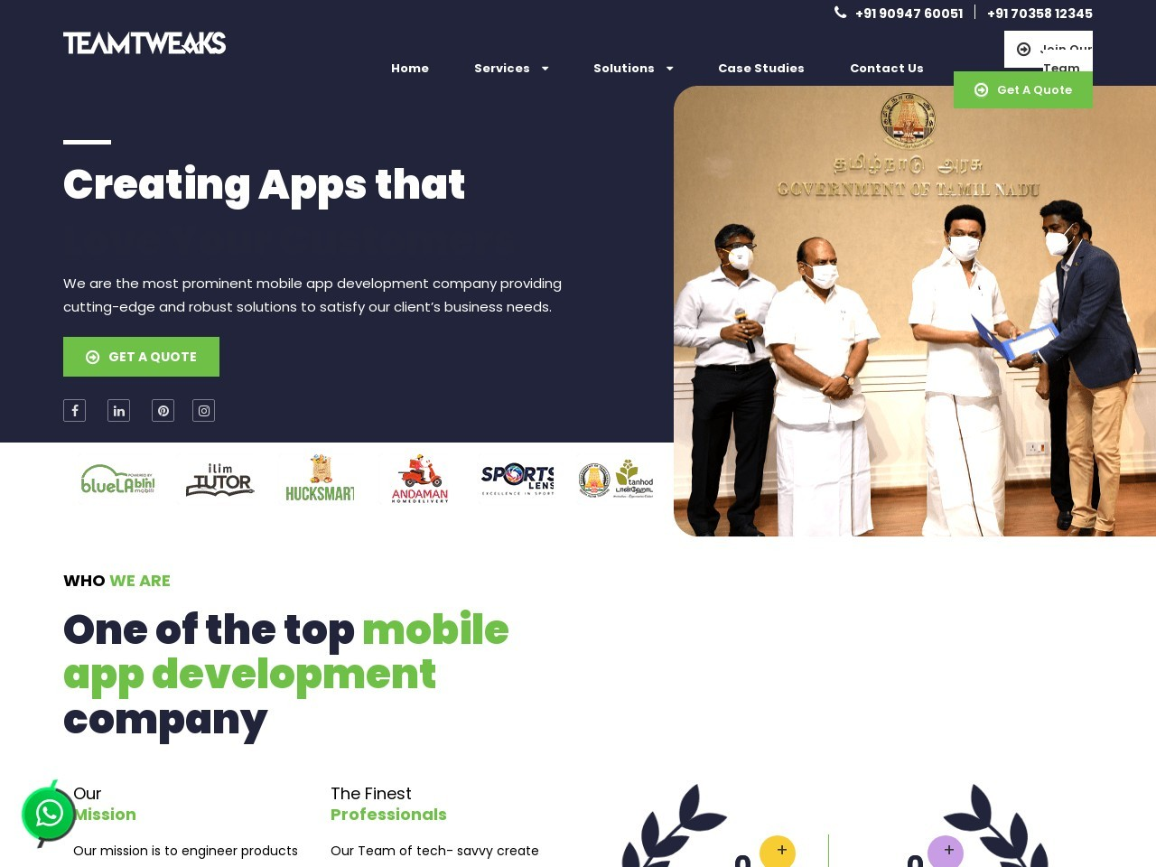 Mobile app development companies in Chennai