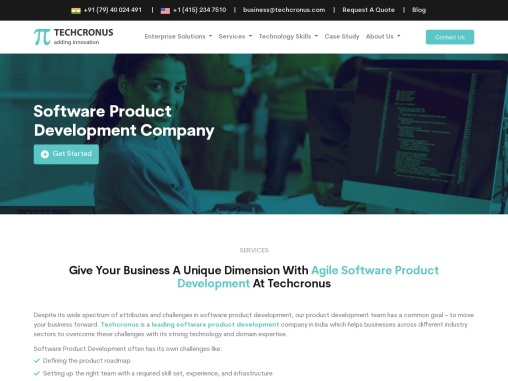 Give Your Business A Unique Dimension With Innovative Software Product Development At Techcronus