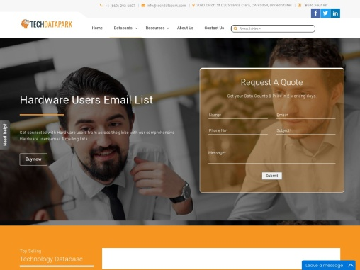 Hardware Users Email List | Hardware Customers Database