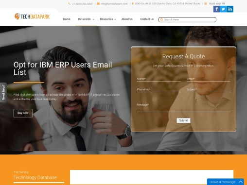 IBM ERP Users Email List | ERP Customers Mailing Database