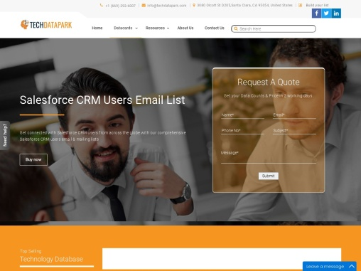 Salesforce CRM Users Email List | Salesforce CRM Database