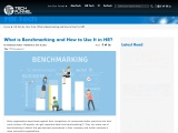 What is Benchmarking and How to Use It in HR?