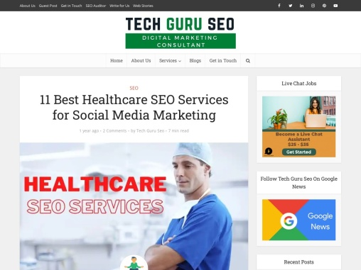 11 Best Healthcare SEO Services for Social Media Marketing