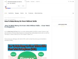 How To Make Money On Fiverr Without Skills –  Fiverr Work For Beginners (2021)