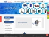 Flash Point Apparatus Manufacturer and suppliers in India
