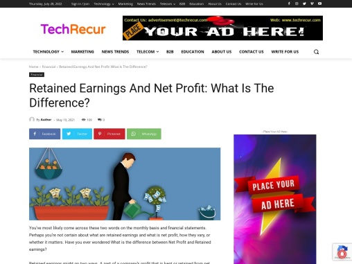 Retained Earnings And Net Profit: What Is The Difference?