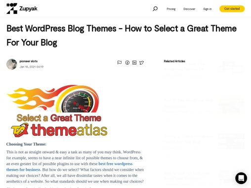 Best WordPress Blog Themes – How to Select a Great Theme For Your Blog