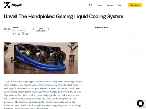 Unveil the handpicked gaming liquid cooling system