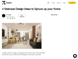 4 Staircase Design Ideas to Spruce up your Home
