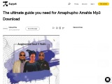 The ultimate guide you need for  Download Amaphupho Amahle Mp3