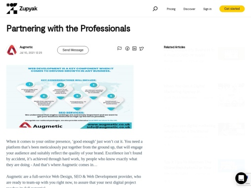 Partnering with the Professionals