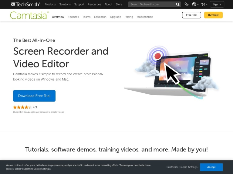 Camtasia Discount Coupon, Purchase With Promotion in 2019 screenshot