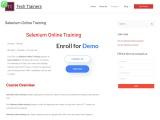 Selenium Training course online