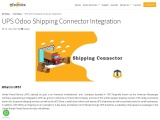 UPS Odoo Shipping Connector Integration