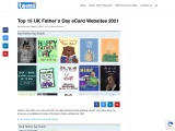 Top 15 UK Father's Day eCard Websites 2021