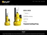 Pneumatic Centrifugal Pumps Manufacturer in Mumbai, India – Teryair
