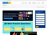 Download JEE Main Practice Questions Topic Wise