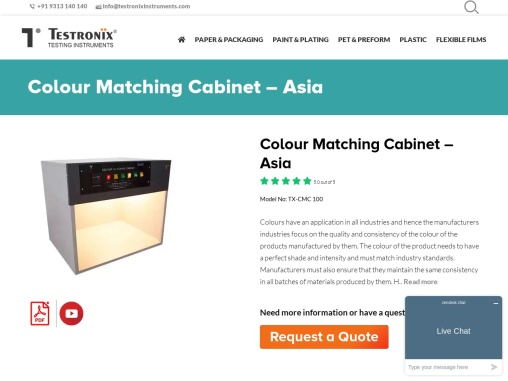 Colour Matching Cabinet Manufacturer