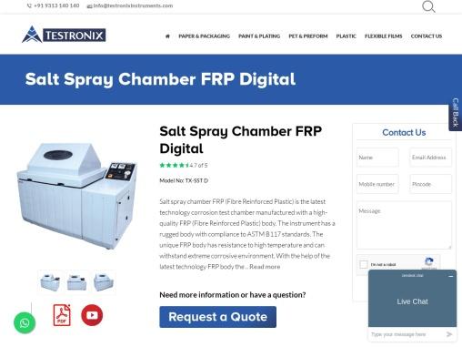 Best Salt Spray Test Chamber -PVC Manufacturer