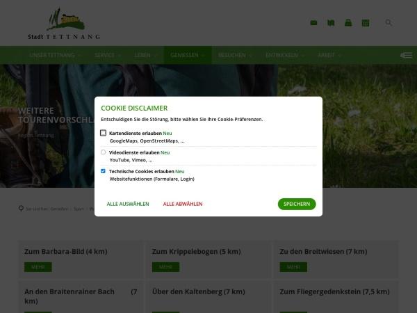 Screenshot von Wandern in Tettnang: Zum Krippelebogen