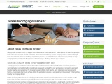 The Best Texas Mortgage Broker at your service