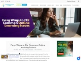 Guide to Fix Online Learning Issues