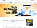 Useful Tips on Time Management for Online Education