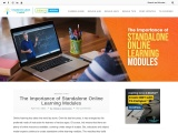 Benefits of Creating Standalone Online Learning Modules