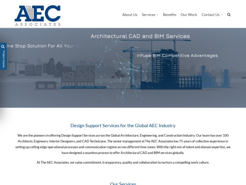 Architectural CAD and BIM Outsourcing Services
