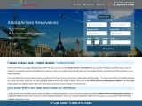 Alaska Airlines Reservations Phone Number: Manage Book a Flight