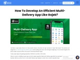 Multi-Delivery App: How to Build A Super App Like Gojek?