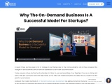 Why The On-Demand Business Is A Successful Model For Startups?
