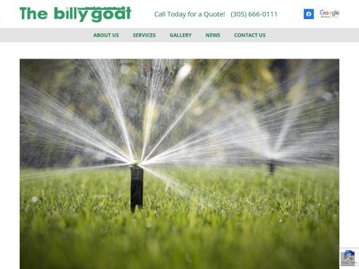 Spring landscape maintenance in Miami