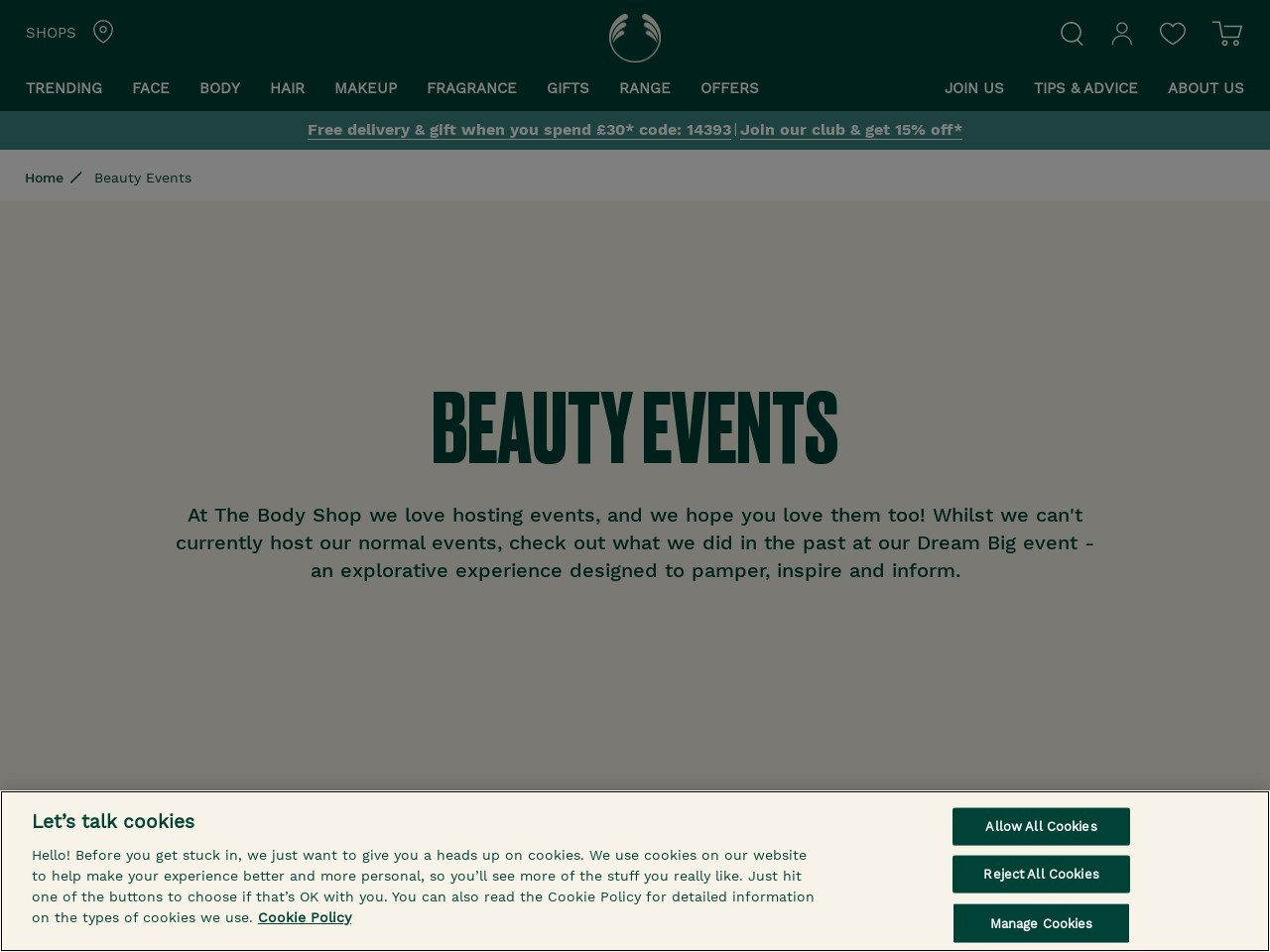 Beauty Experts | Beauty Trends & Events | The Body Shop UK
