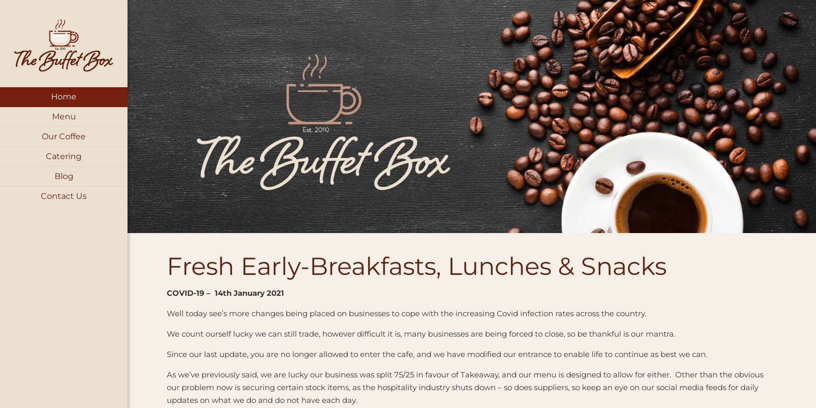 Preview of https://www.thebuffetbox.co.uk