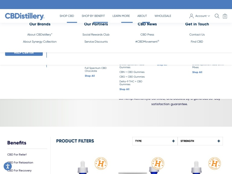 CBDistillery screenshot