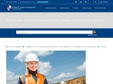 Construction Project Management | College of Contract Management