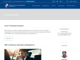 Undergraduate   College of Contract Management in UK