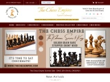 luxury wood chess pieces online