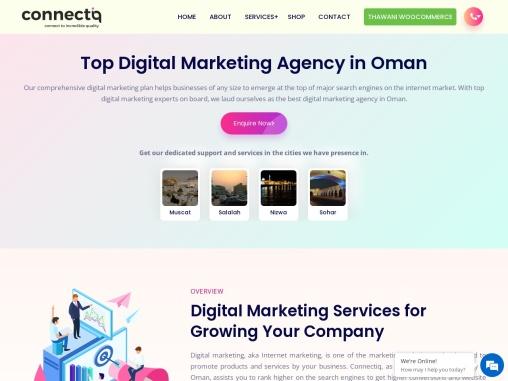 Best Digital Marketing Services in Oman- Connectiq