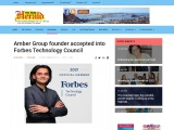 Amber Group founder accepted into Forbes Technology Council